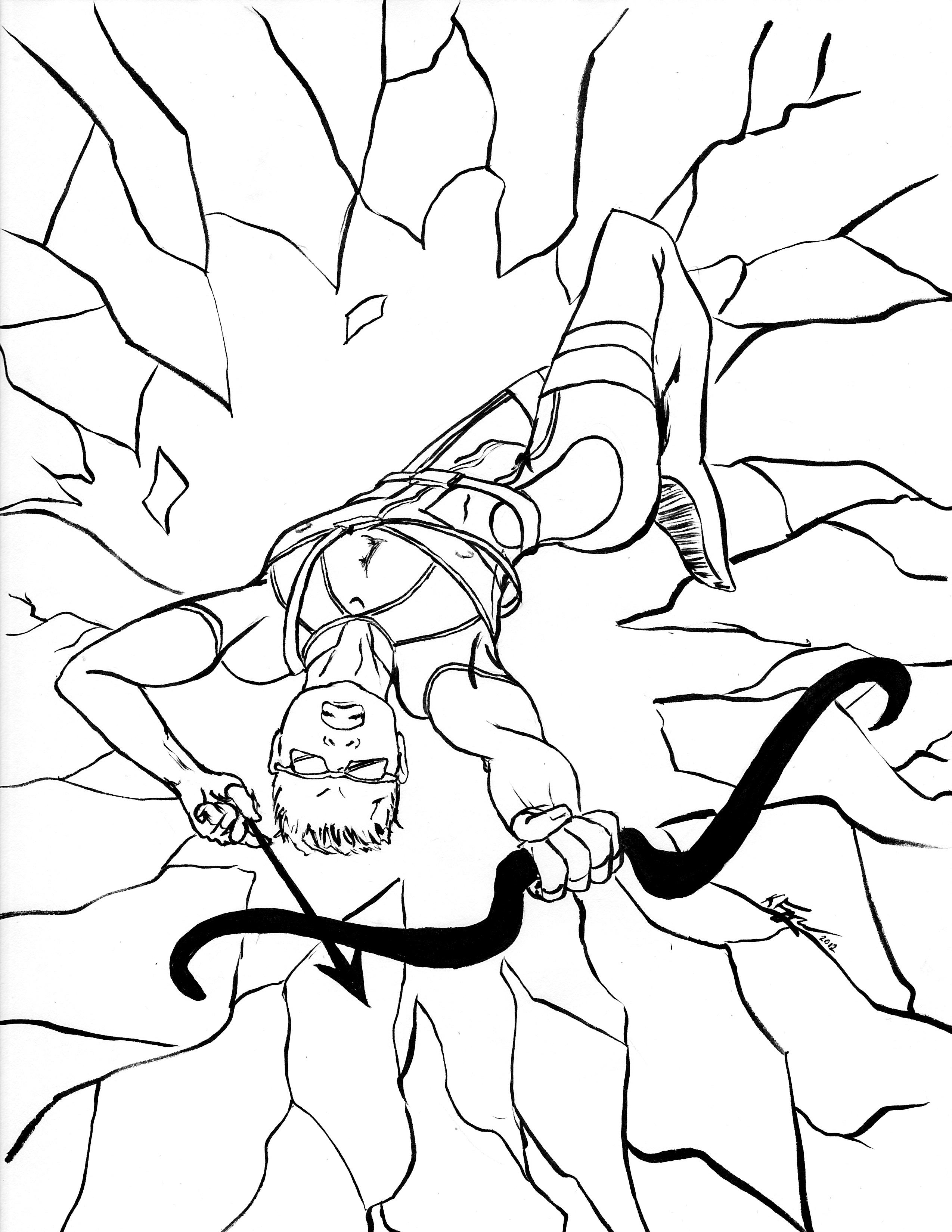 coloring page  Rogue Bard Media